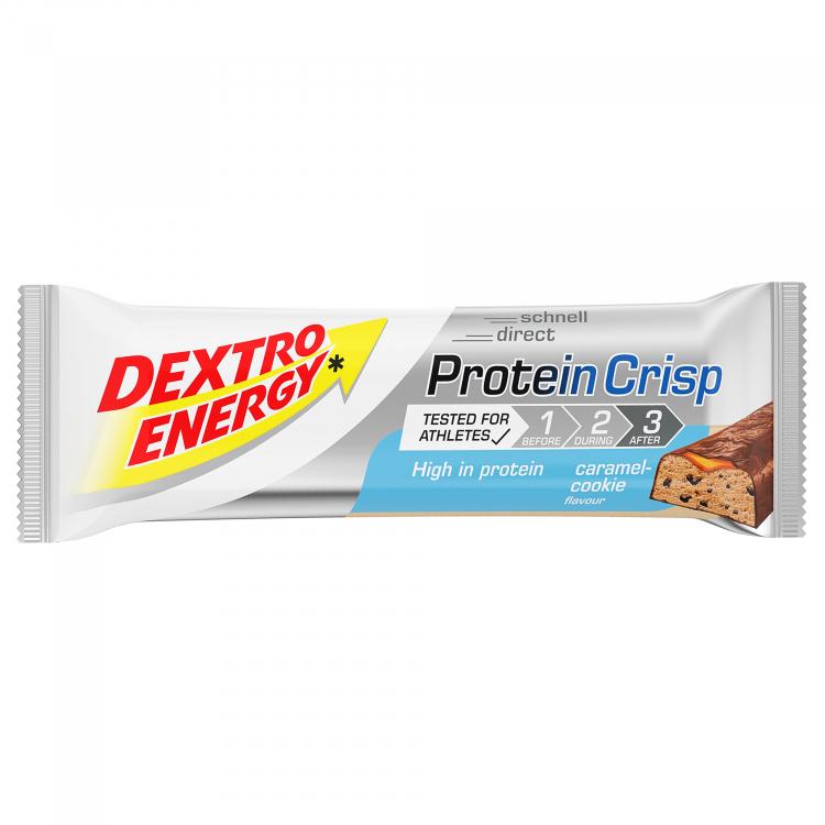 Dextro Energy Protein Crisp Riegel Mit 30 Eiweissanteil Zur Regeneration