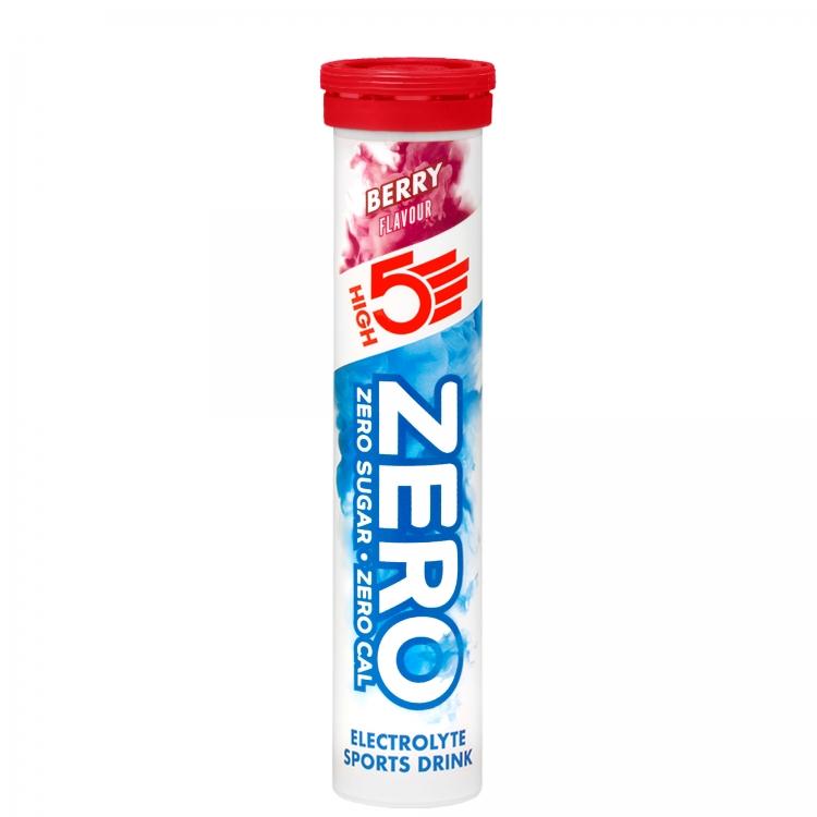 Kalorienreduzierte High5 Zero Elektrolyte Tabs für Sportler ...