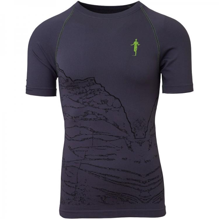 Carbon Dunkelgraues Thonimara Herren Sport T Shirt Tm 534 380 1390