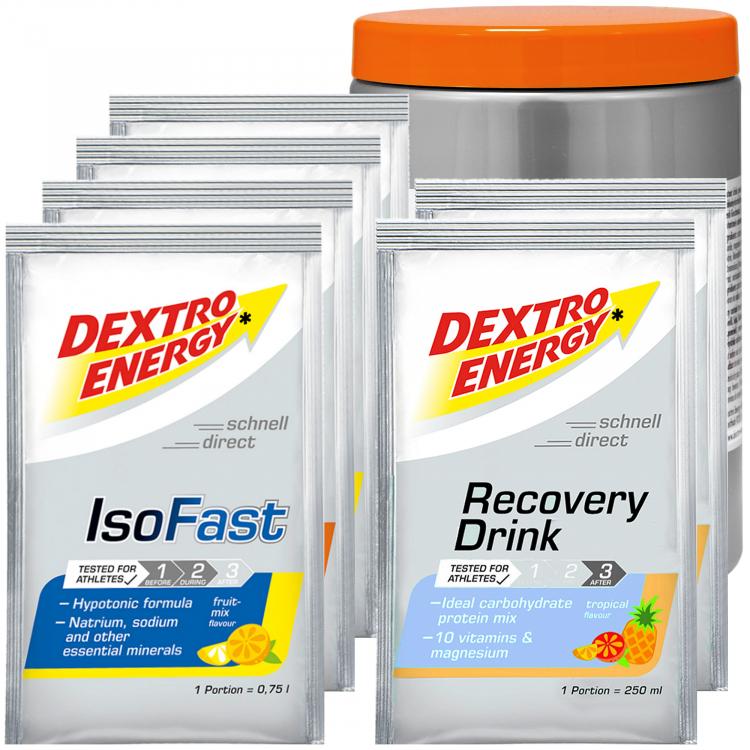 Dextro Energy Getränke Test Paket für Ausdauersportler ...