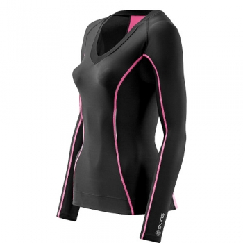 SKINS A200 Compression Long Shirt (Damen)