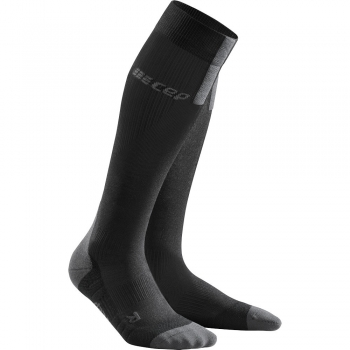 CEP Run 3.0 Compression Socks Damen | Black Dark Grey