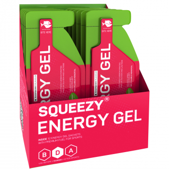 Squeezy Energy Gel *Box mit 12 Gels*