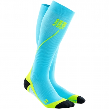 CEP Run 2.0 Compression Socks Herren | Hawaii Blue Green