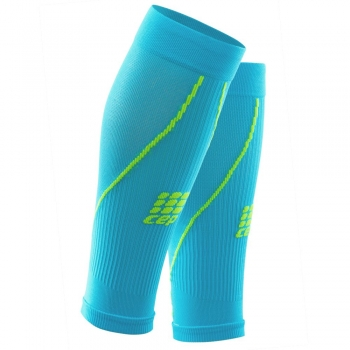 CEP 2.0 Compression Calf Sleeves Herren | Hawaii Blue Green