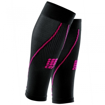 CEP 2.0 Compression Calf Sleeves Damen | Black Pink