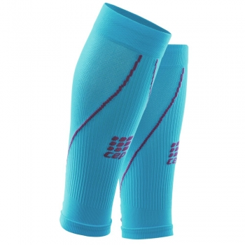 CEP 2.0 Compression Calf Sleeves Damen | Hawaii Blue Pink