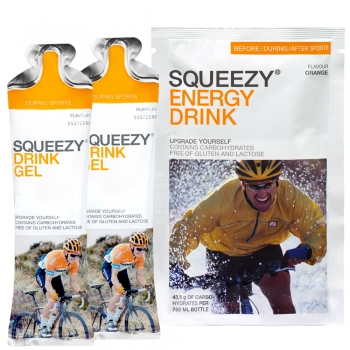 Squeezy Laufsport *Trainings- & Halbmarathon-Paket*