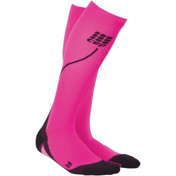 CEP Run 2.0 Compression Socks Damen | Pink Black