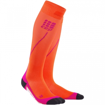 CEP Run 2.0 Compression Socks Damen | Sunset Pink