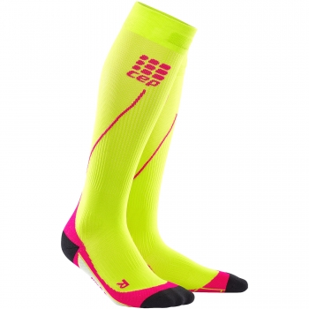 CEP Run 2.0 Compression Socks Damen | Lime Pink