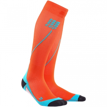 CEP Run 2.0 Compression Socks Herren | Sunset Hawaii Blue