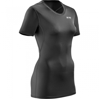 CEP Wingtech Compression T-Shirt Damen | Black