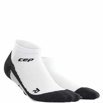 CEP Run 2.0 Low Cut Compression Socks Damen | White Black