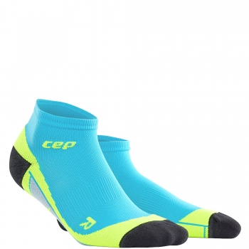 CEP Run 2.0 Low Cut Compression Socks Herren | Hawaii Blue Green