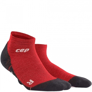 CEP Outdoor Light Merino Low Cut Compression Socks Damen | Deep Magma