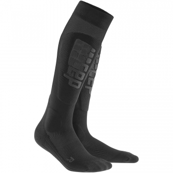 CEP Ski Ultralight Compression Socks Damen | Black Anthracite