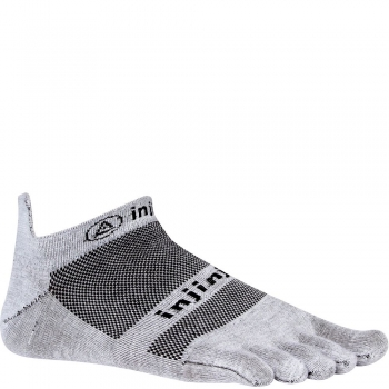 Injinji Run Lightweight No Show | Grey | Dünn