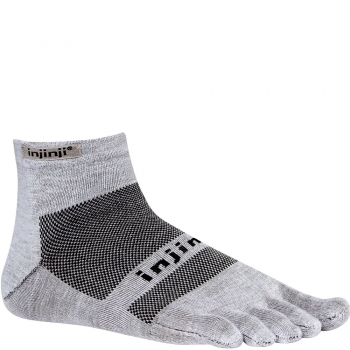 Injinji Run Lightweight Mini Crew | Grey | Dünn