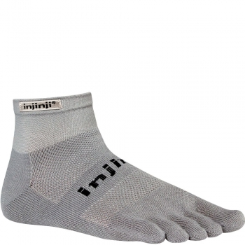 Injinji Run Original Weight Mini Crew | Grey | Mitteldick