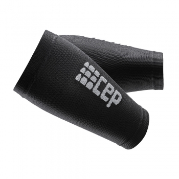 CEP Compression Unterarm Armlinge Unisex | Black Grey
