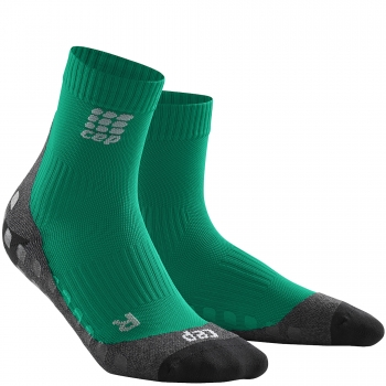 CEP Run Griptech Short Cut Compression Socks Damen | Green