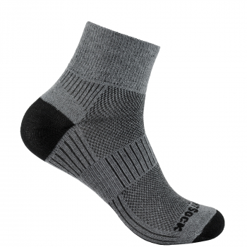 Wrightsock Coolmesh II Quarter | Grey | Dünn