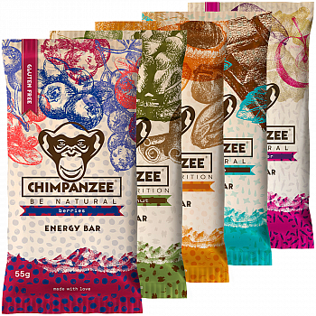 Chimpanzee Energy Bar Testpaket