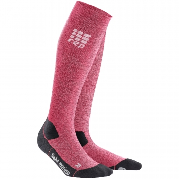 CEP Outdoor Light Merino Compression Socks Damen | Wild Berry