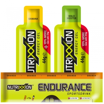 Nutrixxion Laufsport *Trainings- & Halbmarathon-Paket*