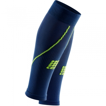 CEP 2.0 Compression Calf Sleeves Herren | Deep Ocean Green
