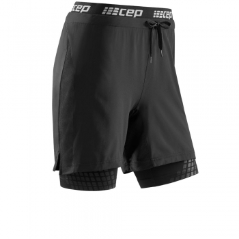 CEP Training 2 in 1 Run Compression Short (Damen)