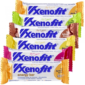 Xenofit Carbohydrate Riegel Testpaket