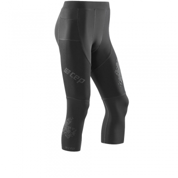 CEP Run 3.0 Compression 3/4 Tight Herren | Black