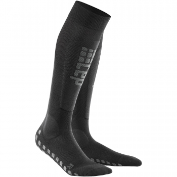 CEP Ski Griptech Compression Socks Damen | Black Anthracite
