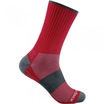 Wrightsock Escape Crew | Red | Mitteldick