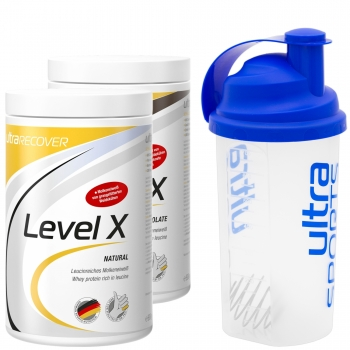 ULTRA SPORTS Level X Aktion mit Shaker