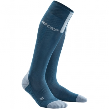 CEP Run 3.0 Compression Socks Herren | Blue Grey