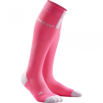CEP Run 3.0 Compression Socks Damen | Rose Light Grey
