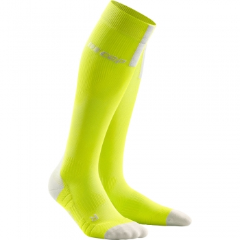 CEP Run 3.0 Compression Socks Damen | Lime Light Grey