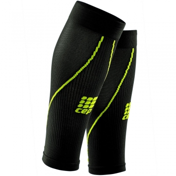 CEP 2.0 Compression Calf Sleeves Herren | Black Green