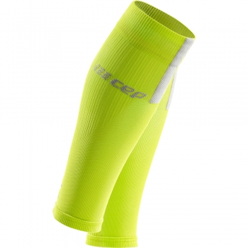 CEP 3.0 Compression Calf Sleeves Herren | Lime Light Grey