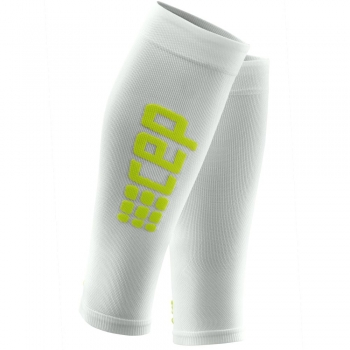 CEP Ultralight Compression Calf Sleeves Herren | White Green