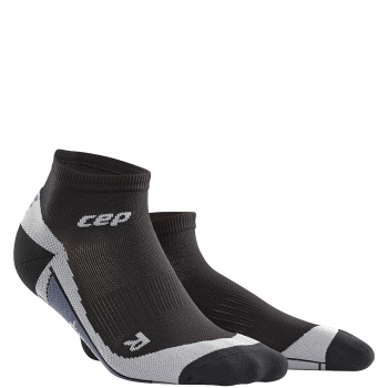 CEP Run 2.0 Low Cut Compression Socks Herren | Black Grey