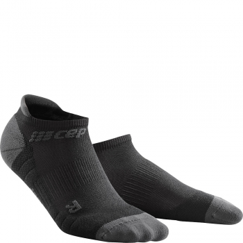CEP Run 3.0 No Show Compression Socks Herren | Black Dark Grey