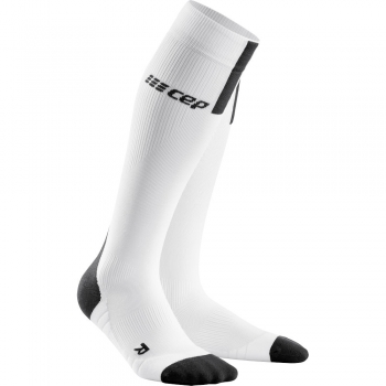 CEP Run 3.0 Compression Socks Herren | White Dark Grey