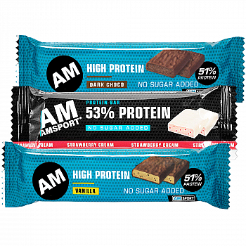 AM Sport High Protein Riegel 50% Testpaket