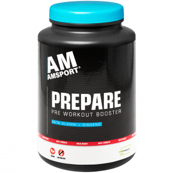 AM SPORT PreWorkout Booster Drink