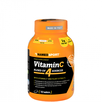 NAMEDSPORT Vitamin C Tabletten *Pflanzenextrakte*