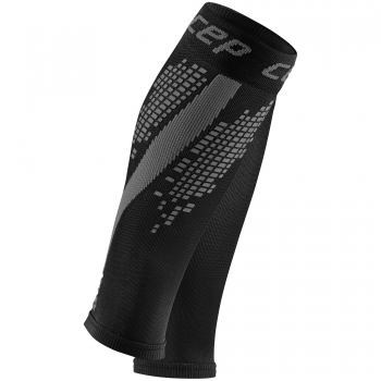 CEP Nighttech Compression Calf Sleeves Herren | Black Grey